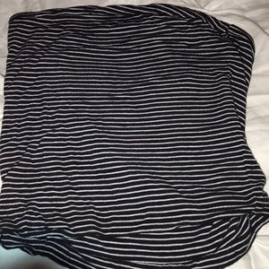 Brandy Melville striped tube top